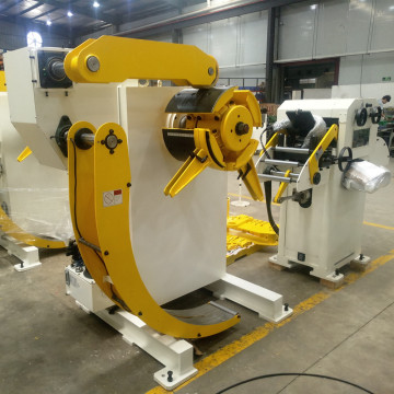 Factory Price for Hydraulic Uncoiling Straightening Feeding Machine Cradle Type Decoiler Cum Straightener supply to Guinea Wholesale