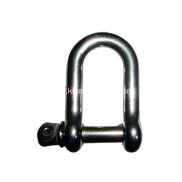 Long D Shackle For Boat Trailers