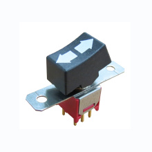 OEM Customized for Round Rocker Switch Momentary Round Sub-miniature Rocker Switches export to Russian Federation Factories