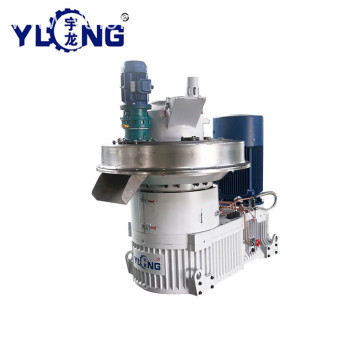 YULONG Pellet Pressing  Machine From Wood sawdust price