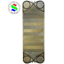 VT80 heat exchanger spare parts 0.5mm ss316 plate