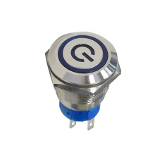 Waterproof Momemtary LED Illuminated Push Button Switch
