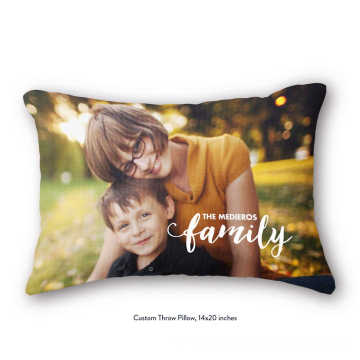 Personal photo's order in pillow