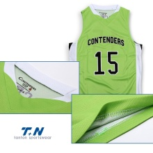20 Years Factory for Mesh Basketball Jersey All over sublimation printed basketball jersey uniforms supply to Niue Factories