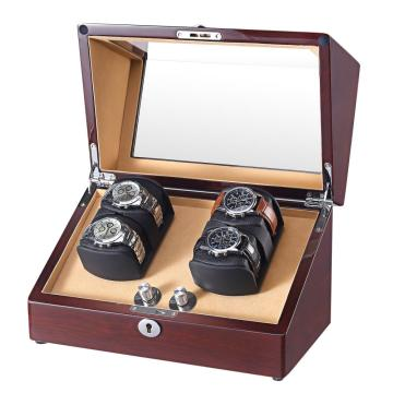 dual rotors watch winder for 4 watches