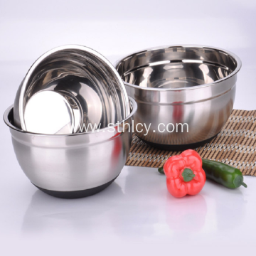 Mirror Polishing Stainless Steel Silver Bowls