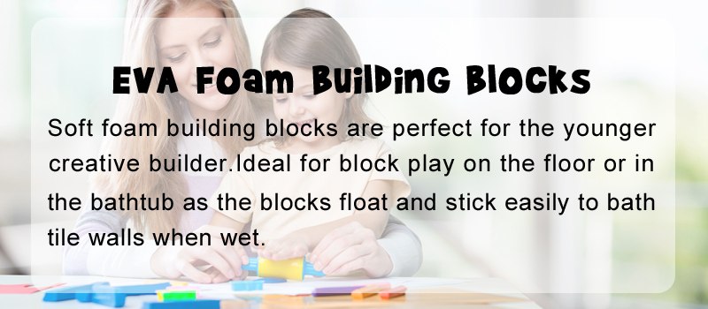 Eva Foam Building Blocks