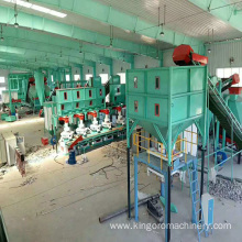 8-10t/h Model DCS-A1000 wood pellet packing bagging machine