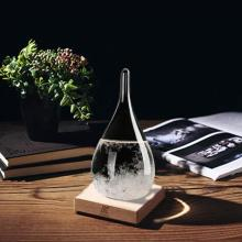Factory Price for Weather Forecast Storm Glass,Magnetic Hourglass,Storm Glass Barometer Manufacturers and Suppliers in China Tear Drop Shaped Glass Storm Weather Predictor Weather Forecast supply to Tokelau Factory