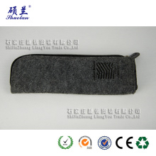 Customized design felt pencil pouch pen bag