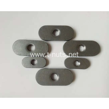 Stainless steel Auto flat plane blind weld nut