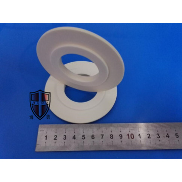 alumina ceramic plate flange circle parts customized