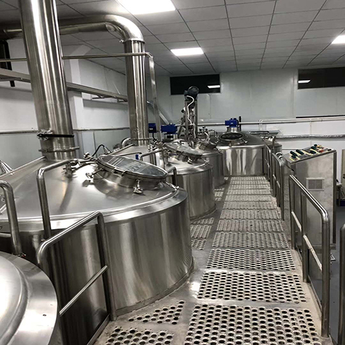 30hL 5 vessel brewhouse