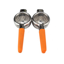 Household Orange Silicone Ring Lemon Squeezer