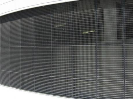 press locked grating outer wall