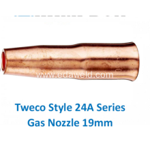 Good Quality for Automatic Gas Injector Nozzle 24A75 Tweco Gas Nozzle export to Vietnam Suppliers