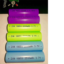 18650 Lithium Battery Cell  2200mAh For Kickscooter