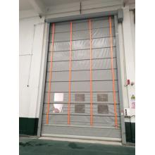 high speed pvc folding up door