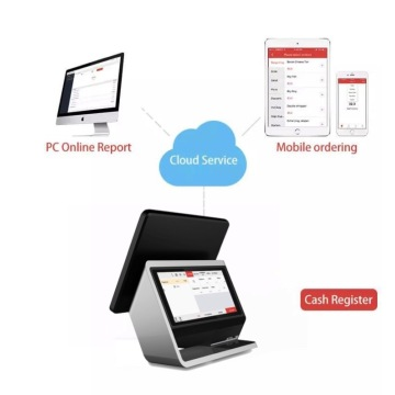 Dual screen emv android inventory pos