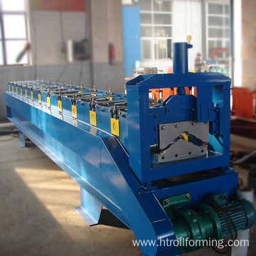Color steel roof angle ridge tile roll former equipment
