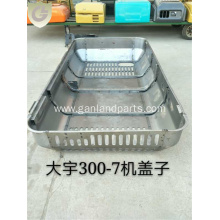 Doosan Excavator DX300-7 Engine Enclosure Cover Hood
