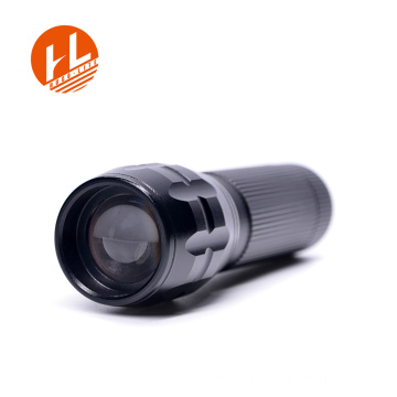 Linterna antorcha de zoom ajustable impermeable de 3W led