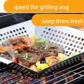 Bristle free alternative nylon BBQ grill cleaning brush
