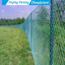 China OEM for Playground Chain Link Wire Mesh Hot Sales Hot Dip Galvanzied PVC Coated Chain Link Fence supply to Papua New Guinea Manufacturers