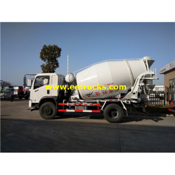 4000L 5ton DFAC Cement Mixer Trucks