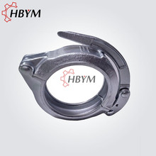 Good quality 100% for Concrete Pump Clamp Concrete Pump Forged Clamp Coupling export to United Arab Emirates Manufacturer