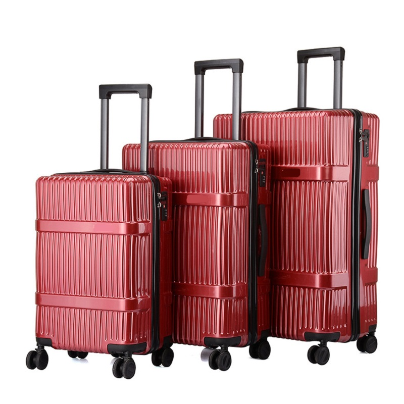 Red Luggage Set
