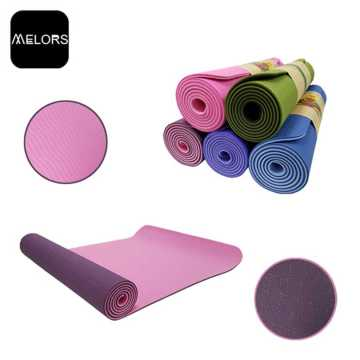 Melors TPE Customized Logo Sport Yoga Pad