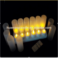 Set of Rechargeable LED Candles with Charger