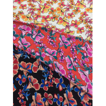 China for China Rayon Challis 32S,32S Printing Fabric,Rayon Challis Fabric 32S Supplier Flower design Rayon Challis 32S Printing Fabric supply to Indonesia Wholesale