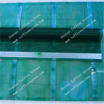 Polyurethane coated stainless steel Screen Mesh
