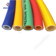 high pressure pvc full braided spray hose