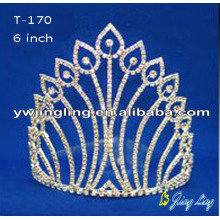 Water drop Rhinestone Pageant Crowns