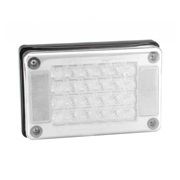 100% Waterproof Truck Rectangle Reverse Lights