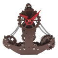 Unique Tabletop Clock Pirate Ship Desk Clock