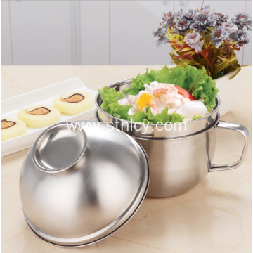 Large Capacity Thicken Stainless Steel Snack Cup