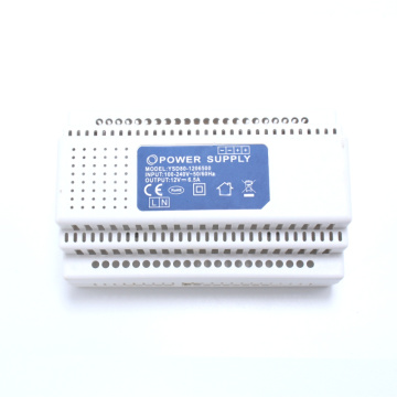 80W DIN RAIL Power Supply AC100-240V to DC12V