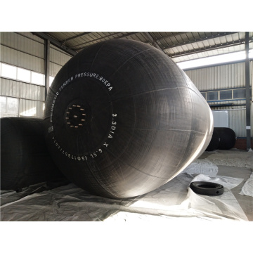 1.5m Diameter 3m Long Pneumatic Marine Fenders