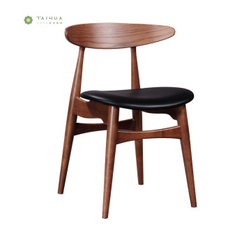 Home and Commercial Nordic Solid Wood Dining Chiair