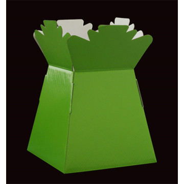 Paper flower packaging vases