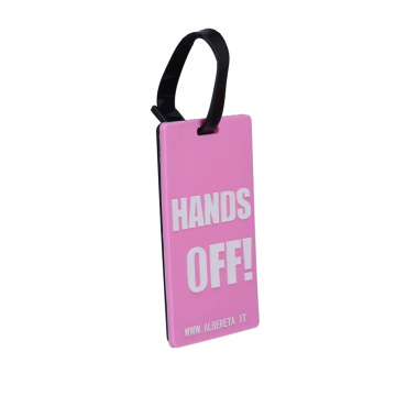 Custom your own luggage tag