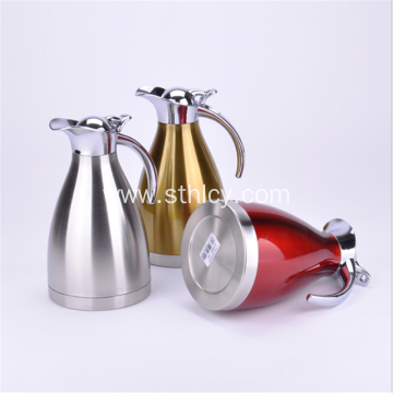Stainless Steel European Coffee Pot Insulation Pot