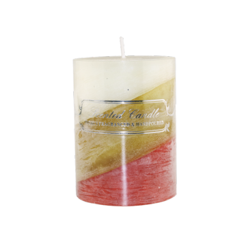High quality aromatherapy pillar candle gift set