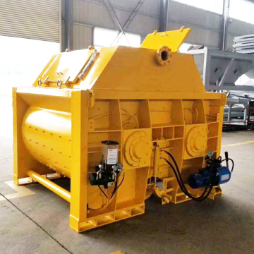 Malaysia electric stationary twin - shaft concrete mixer