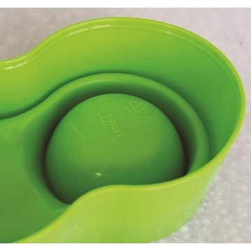 Anti-Ant Plastic Pet Bowl - Pink