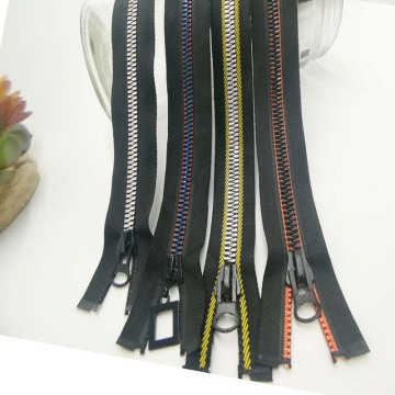 Creative 11 inch metal zipper for clothing
